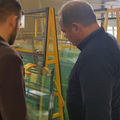 Szkolenie - ściany szklane