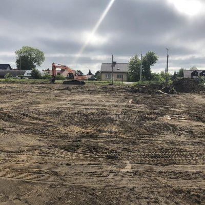 Przygotowanie terenu przed budową